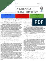 soccer newsletter oct 7 2012
