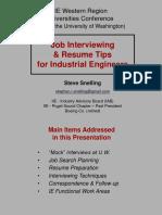 IIE Interview Tips