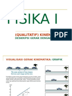 01a Kinematika Grafik - Visualisasi Gerak
