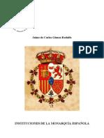 Instituciones de La Monarquía Española