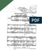 Concertino Para Clarinete de c.m. Weber (Guión)