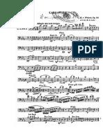 Concertino Para Clarinete de c.m. Weber Bombardino y Tuba