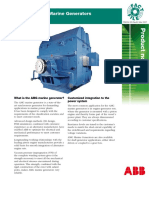 Product Notes M004 Mar07 AMG Marine Generator