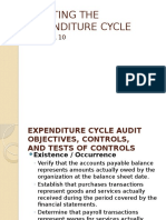 Auditing the Expenditure Cycle