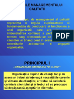 Principiile Managementului Calitatii 2