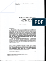 2. Dimaggio, P. Cultural Policy Studies. What They Are and Why We Need Them