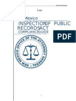Inspection of Public Records Compliance Guide 2015