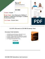 Pass4sure 1Z0-860 Exam Preparation - Shortcut to Success.pdf
