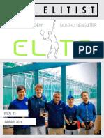 ETA - Newsletter Issue 13 - January 2016