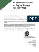 Diesel Engine for 1990s