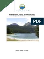 Inovirana Strucna Podloga - Studija Izvodljivosti Za Reviziju Granica Nacionalnog Parka Durmitor