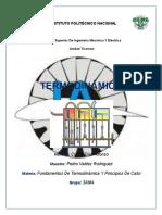 Termodinámica y Principios de Transferencia de Calor
