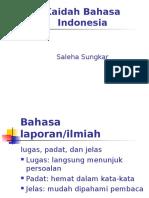 Kaidah Bhs Indonesia MRU