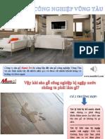 Sàn gỗ công nghiệp Vũng Tàu