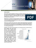 Horan Capital Investors Winter 2015 Investor Letter