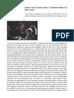 """Cardinale Bertone, """"Il Cittadino"""" del 27 dicembre 2015"""
