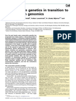 Conservation Genetics to Conservation Genomics