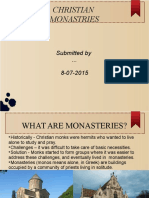 Christian Monasteries