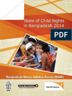 State of Child Rights in Bangladesh 2014