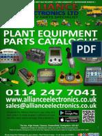 Alliance Electronics Ltd Plant Equipment Parts Catalogue 2018
