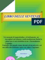 LIBRO DELLE SENTENZE