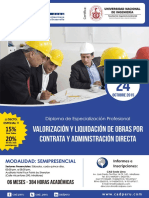 Dossier Smp de valorizacion y liquidacion de obras