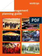 Event Management Planning Guide