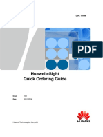 Huawei ESight Quick Ordering Guide