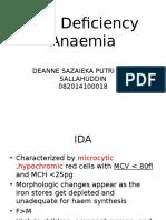 Hematopoiesis & Anemia