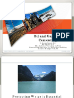 Oil and Gas Cementing