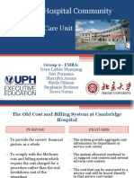 Group 9 -Cambridge Hospital