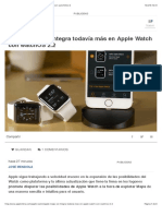 Apple Maps se integra todavía más en Apple Watch con watchOS 2.2
