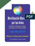 MOVILIZACIÓN MUNDIAL POR LAS ARTES