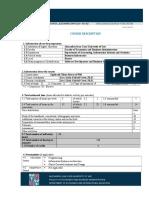 Course Description 201 APPCS-Web SIA 2014-2015