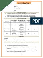 Sandeep Kumar Kalapala Resume