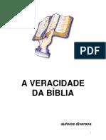 A Veracidade Da Bblia - Diversos Autores