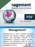 Management - Introduction