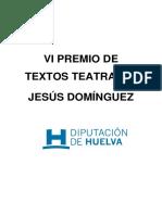 Bases Premio Jesús Domínguez 2015