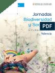 Jornadas Biodiversidad y Sociedad Valencia