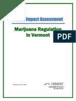 HIA Marijuana Regulation in Vermont 201601