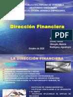 Dirección Financiera Tema 1