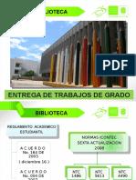 Biblioteca Guia Trabajos de Grado 2015