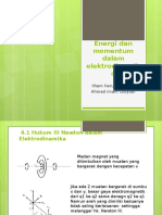 Energi Dan Momentum Dalam Elektrodinamika
