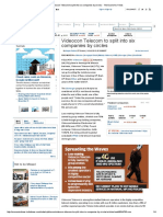 Videocon Telecom to Split Into Six Companies by Circles - The Economic Times