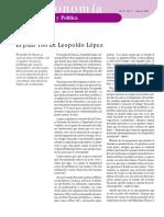 Plan 180 Leopoldo Lopez - Notilogía
