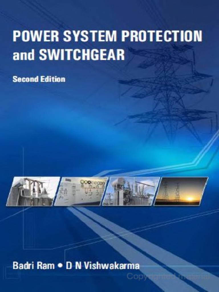 Power system protection and switchgear by badri ram free pdf