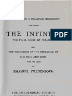 Em SWEDENBORG Forerunner of A REASONED PHILOSOPHY concerning THE INFINITE and THE FINAL CAUSE OF CREATION 1734 W Cowherd 1795 J J Garth Wilkinson 1847 Lewis F Hite 1908 the Swedenborg Society 1965