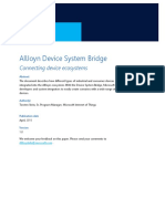 AllJoyn - Device System Bridge - Whitepaper v1.0