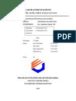 laporan praktikum anodisasi