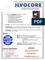Core Drilling - Solvocore